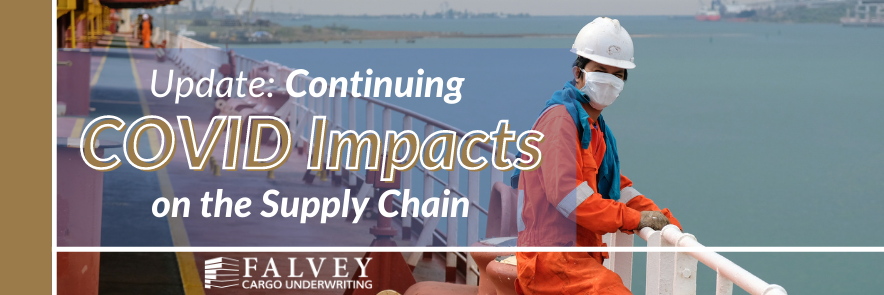Covid impacts on the supply chain